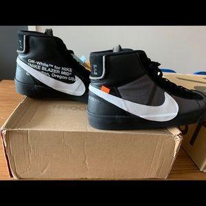 Off-White Nike Blazer Mids Grim Reaper size 10.5